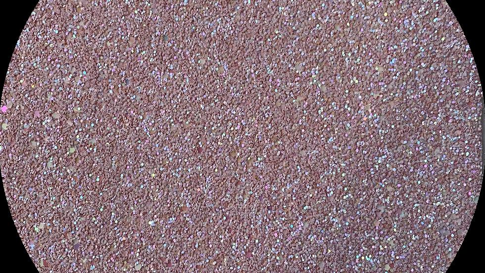 Crude Chunky Glitter ~Powder Pink ~ 1.35mm thickness