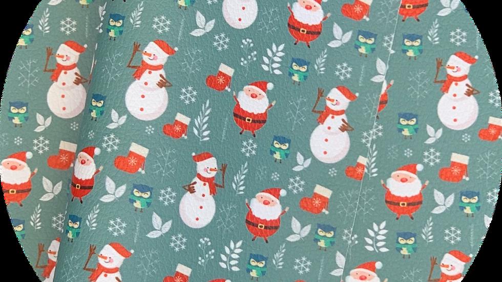 Santa & Frosty ~ Luxe Grain Litchin
