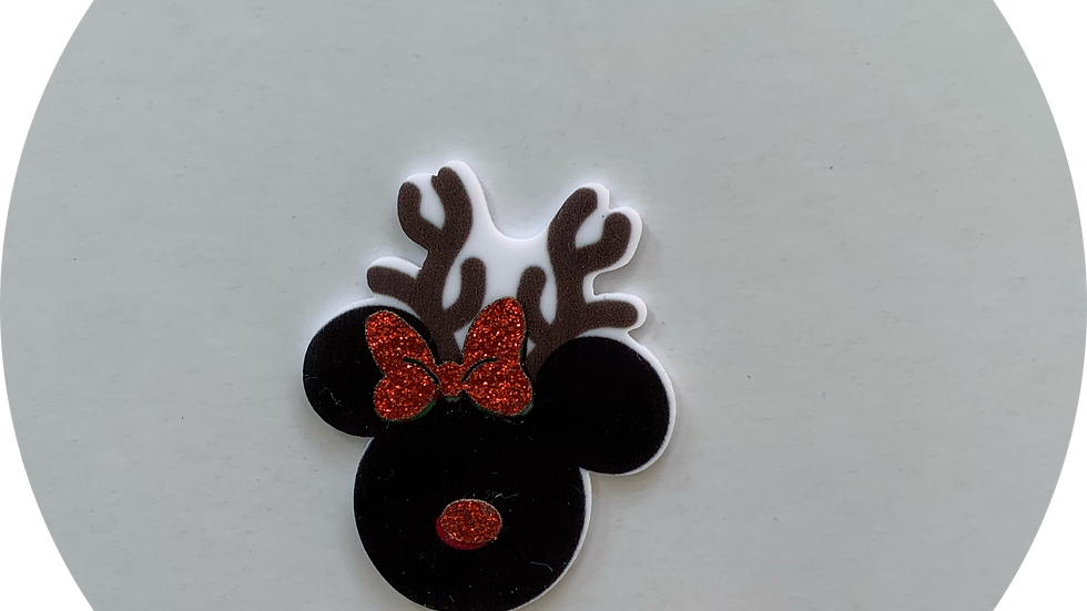Mouse Reindeer ~ Planar Resin