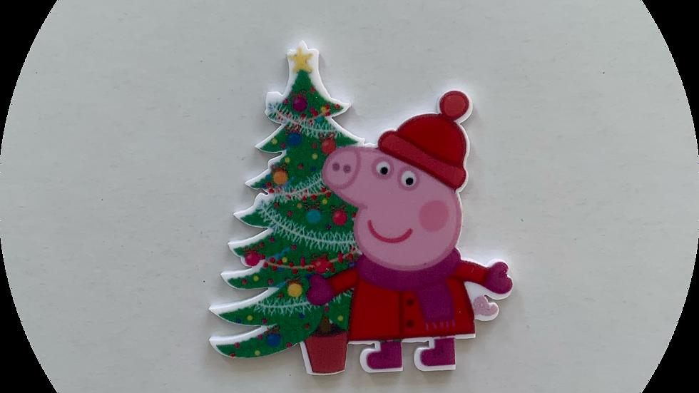 Peppa Pig Christmas tree ~ Planar Resin