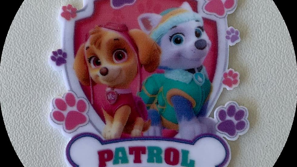 Pups on Patrol ~ Planar Resin