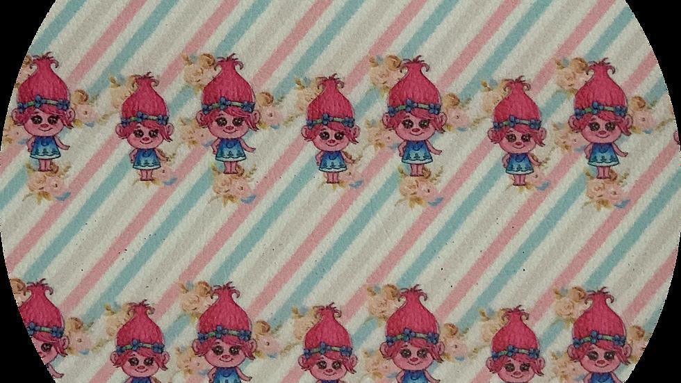 Trolls ~ Poppy ~ Luxe Grain Litchi ~