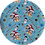 Thumbnail: Bluey ~ Luxe Grain Litchi ~ Christmas