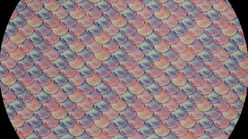 Fish Scales ~ Luxe Grain Litchi