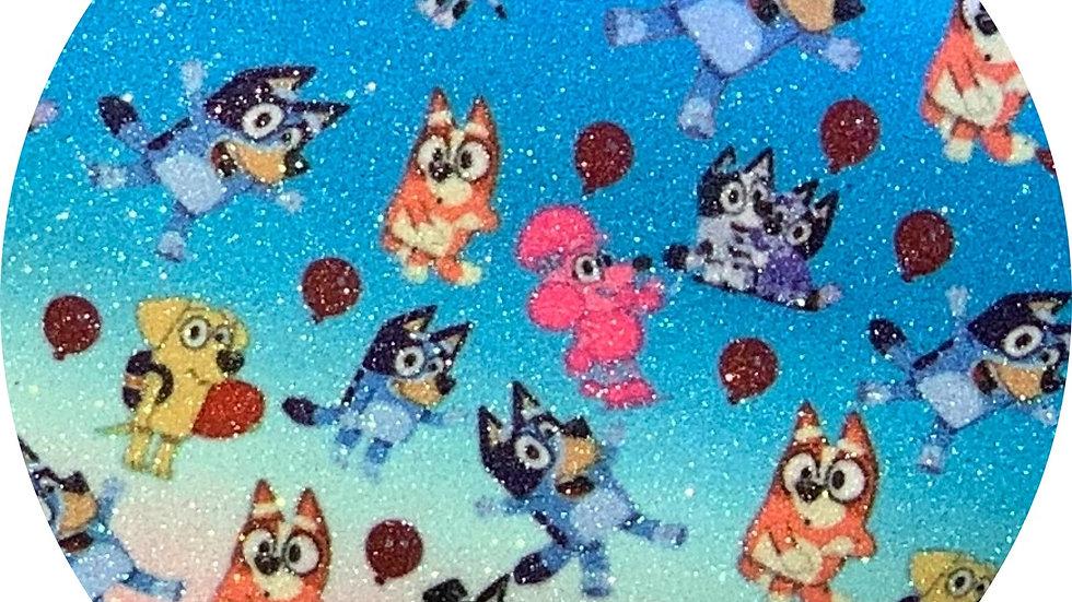 Bluey & Friends ~ Fine Glitter