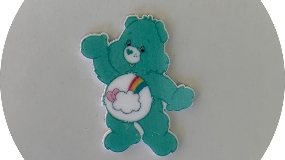 Blue Care Bear ~ Planar Resin
