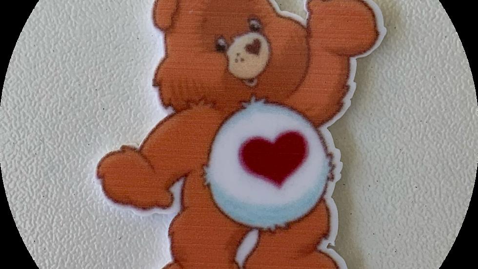 Orange Care Bear ~ Planar Resin