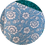 Thumbnail: Double Sided Leatherette & Chunky Glitter ~ Blue ~ Flowers