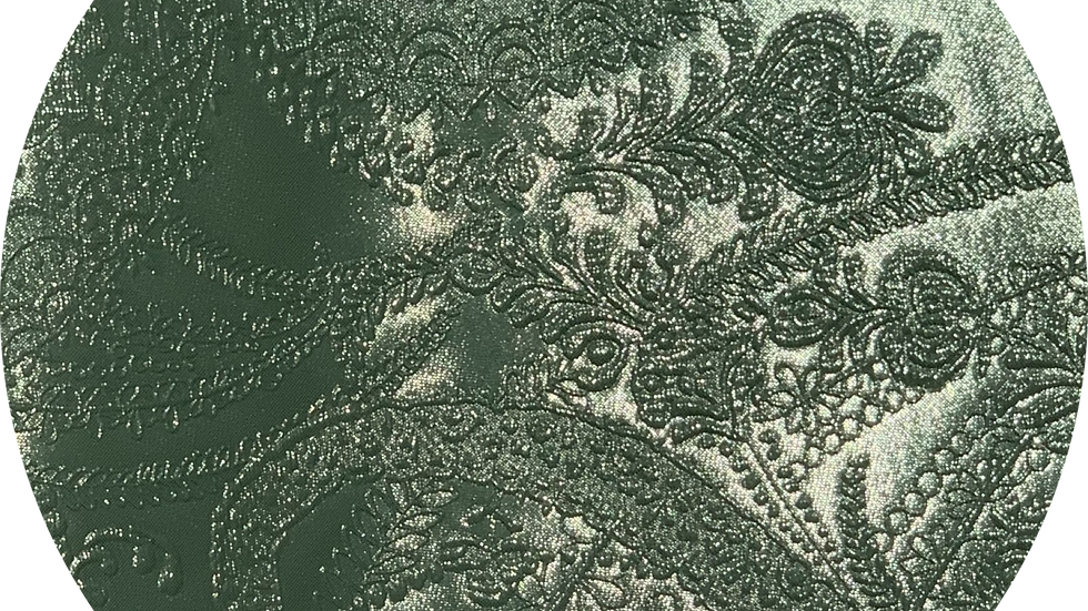 Luxe Embossed Leatherette ~ Pistachio ~ 1.05mm Thickness