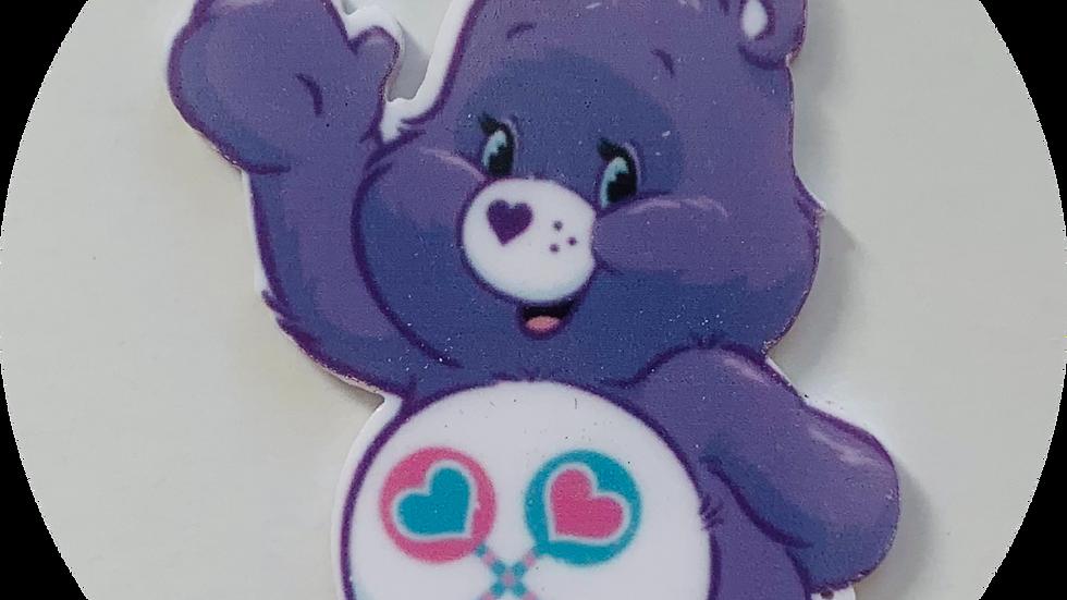 Purple care bear planar Resin