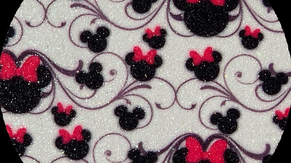 Minnie Mouse ~ Bows ~ Fine Glitter