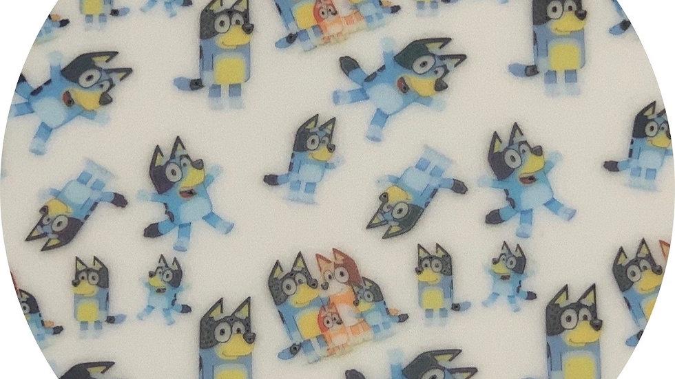 Bluey ~ Waterproof Sheets ~ White ~ 0.65 Thickness