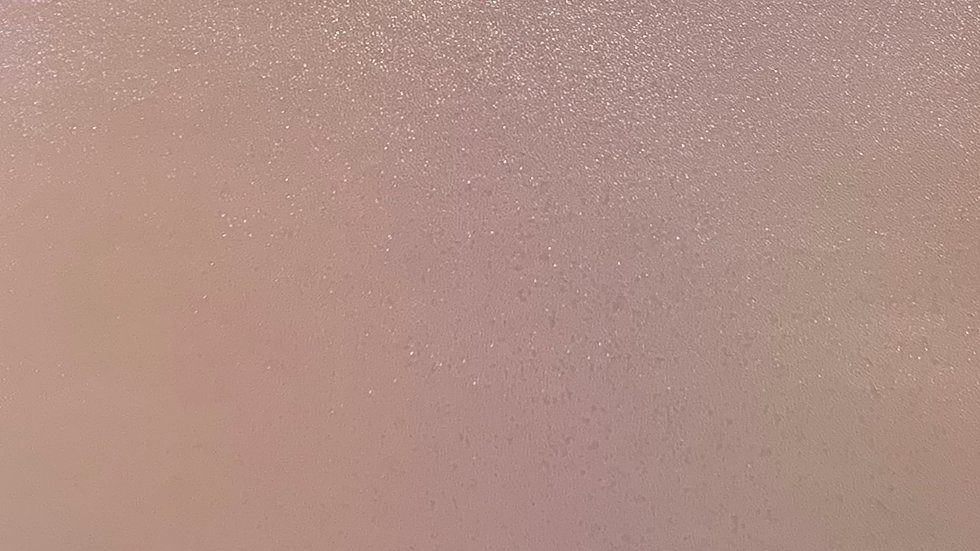 Iridescent Pearl Smooth Faux Leather ~ Baby Pink