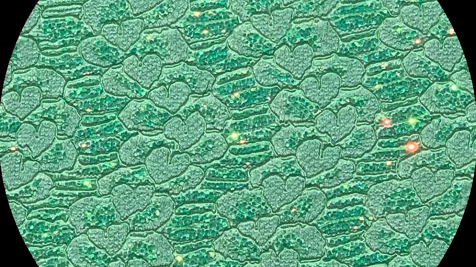 Glitter & Lace ~Emerald Green