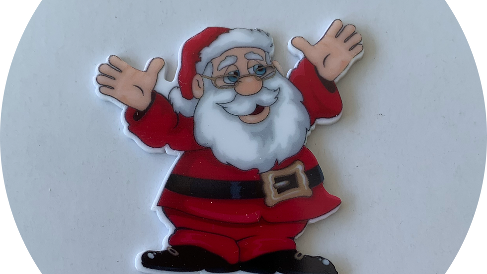 Planar Resin ~ Santa
