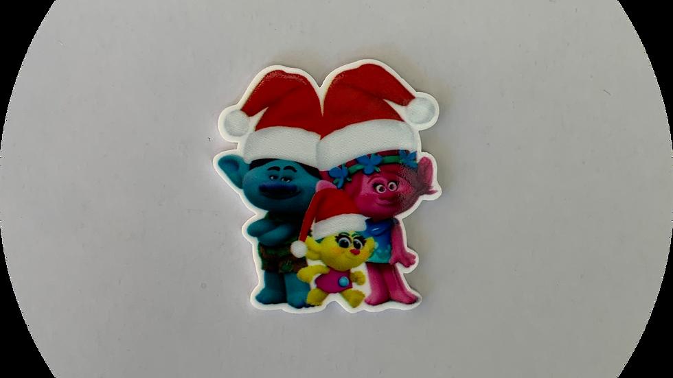 Trolls Christmas ~ Planar Resin