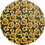 Thumbnail: Sunflowers ~ Smooth Luxe Leatherette ~Black