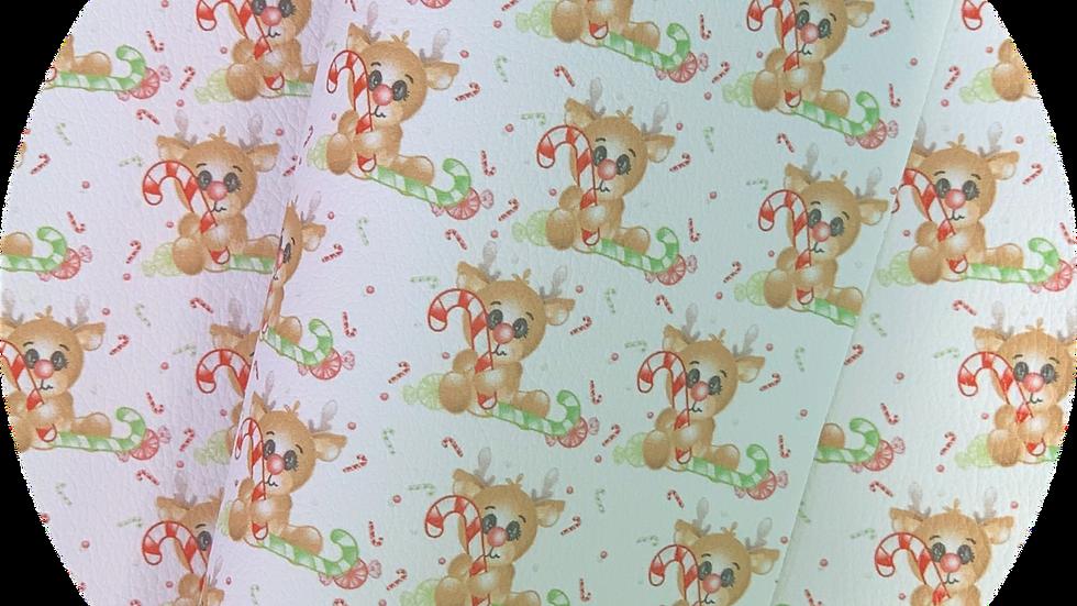 Baby Reindeer ~ Luxe Grain Litchi