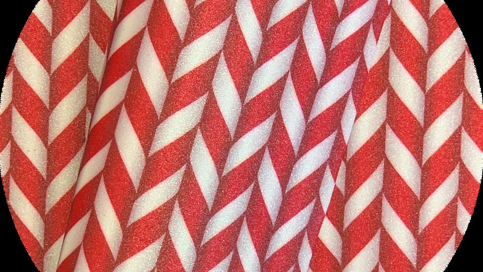 Candy Cane ~ Fine Glitter
