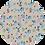 Thumbnail: Bluey & Friends ~ Luxe Grain Litchi ~ Peach