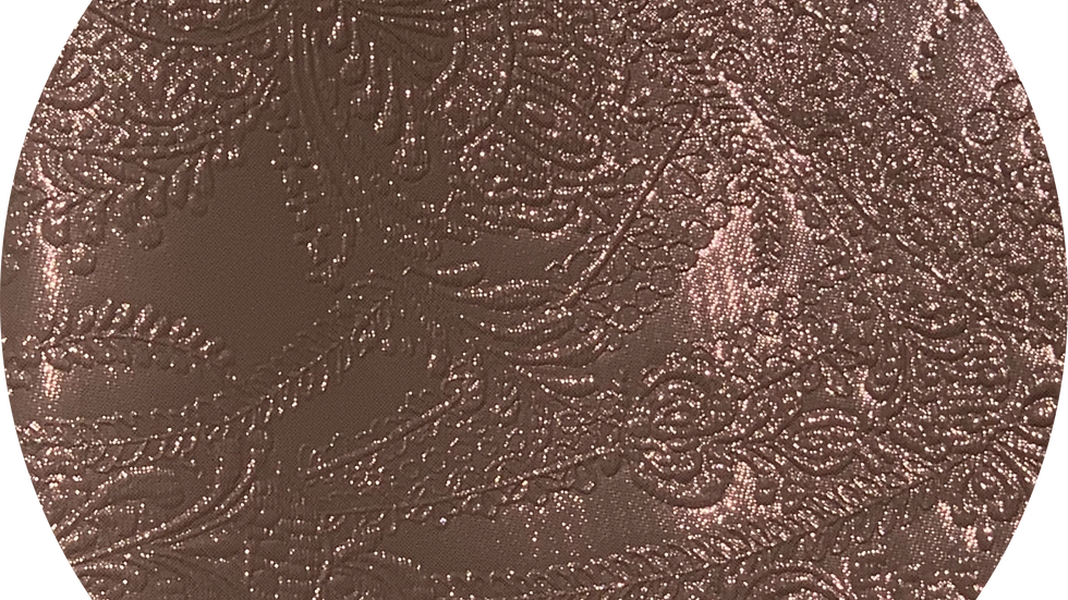 Luxe Embossed Leatherette ~ Rose Gold ~ 1.05mm Thickness