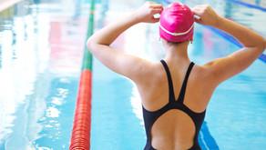 Public swimming in a private setting