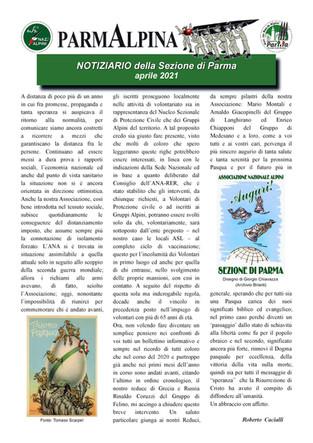 ParmAlpina Notizie - Aprile 2021