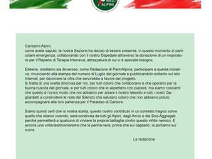 ParmAlpina supporta l'Ospedale Maggiore
