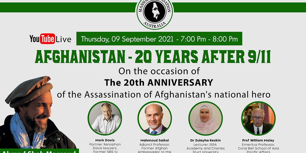 Afghanistan - 20 Years After 9/11