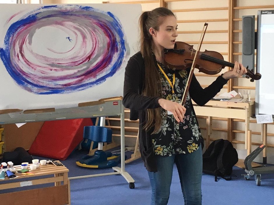 Five things you learn when you co-host an art/music workshop.