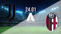 بث مباشر مباراة يوفنتوس ضد بولونيا 24-1-2021 في الدوري الايطالي 1.30م