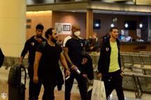 وصول بعثة الزمالك الى مطار القاهرة عائدين من السنغال