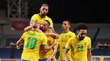 فيديو : المنتخب المصرى الاوليمبي يودع أولمبياد طوكيو بعد الخسارة من البرازيل بهدف