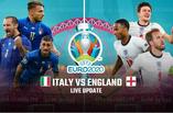 بث مباشر مباراة ايطاليا ضد انجلترا 11-07-2021 في نهائي بطولة امم اوروبا 9م