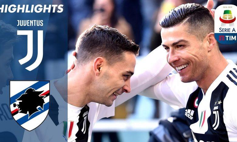 مشاهدة مباراة سامبدوريا و يوفنتوس 18-12-2019 في الدوري الايطالي 7.55م