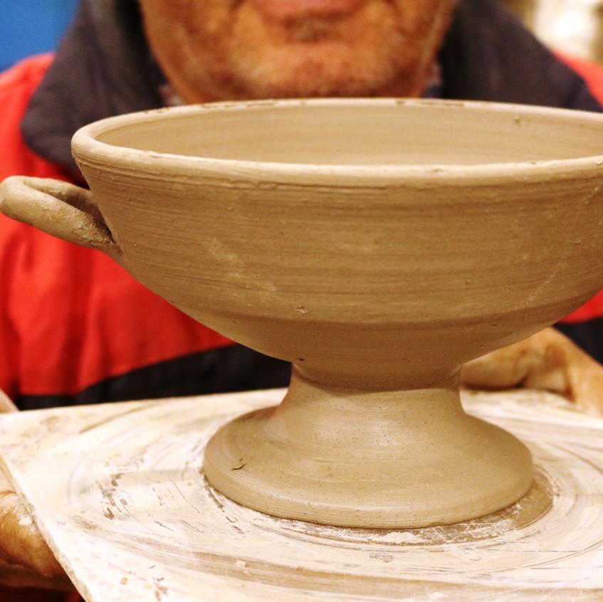 pottery kylixx