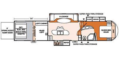 2013 XLR Thunderbolt 395AMP Layout