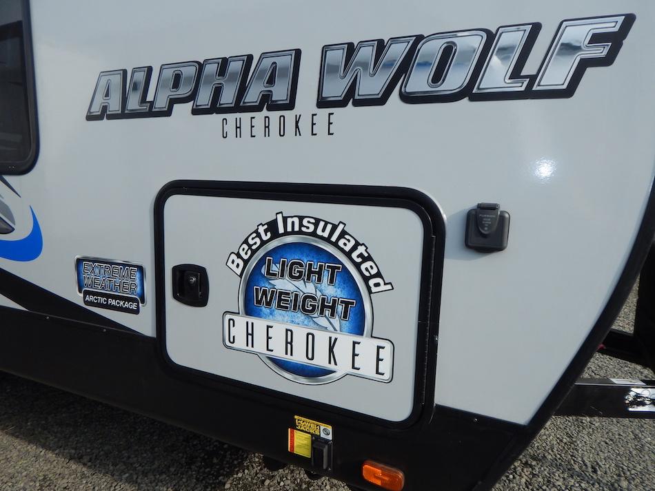 2019 Alpha Wolf 26DBH-L 105