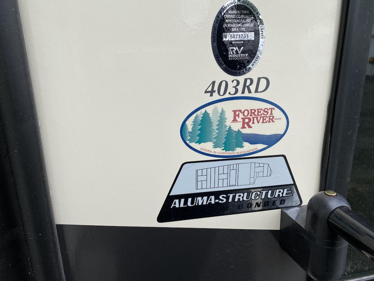 2021 Sierra 403RD 105