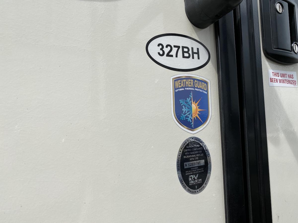 2020 Elkridge 327BH 106