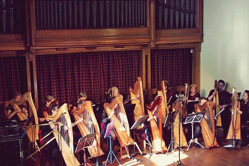 Harps Of The Far Corners (Harp Ensemble)