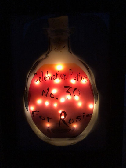 Personalised light up potions