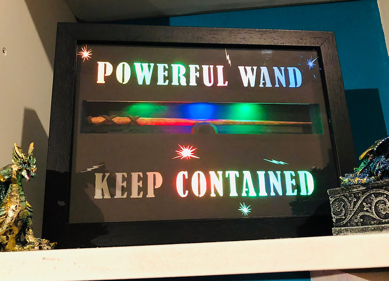 The Light Up Powerful Wand Holder