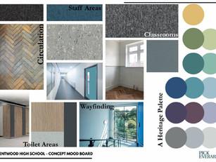 Interior Colour Mood Board
