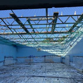 Gym roof