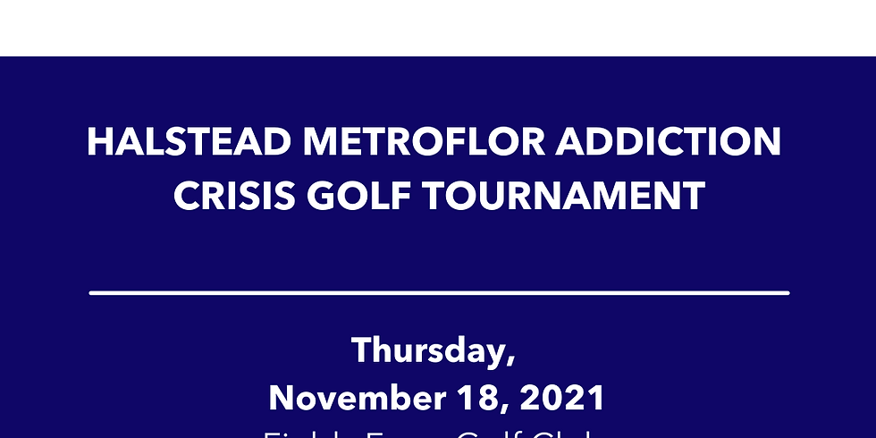 Halstead Metroflor Addiction Crisis Golf Tournament