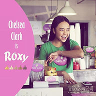 Meet Roxy, played by Chelsea Clark. A lo