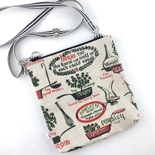 Crossbody Purse - Herbs