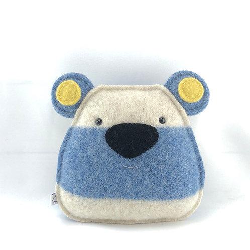 Small Bear - Blue Stripes