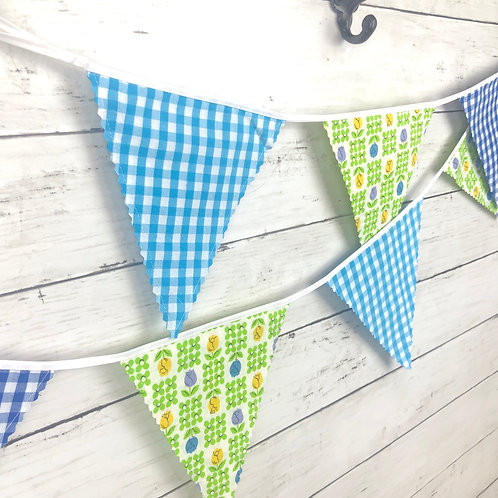 6' Banner - Reversible Fabric Bunting